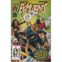 Ex-Mutants Vol. 2  Issue 1