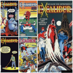 Excalibur Collection Issues 1-5