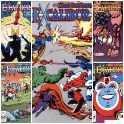 Excalibur Collection Issues 11-15