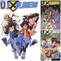 Explorers Collection Volume 2 Issues 1-3