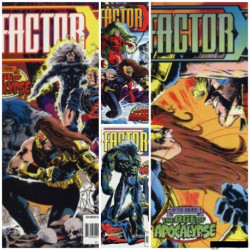 Factor X Collection Issues 1-4