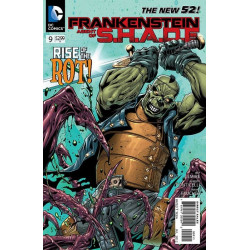 Frankenstein: Agent of S.H.A.D.E. Issue 9
