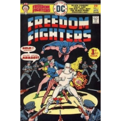 Freedom Fighters Vol. 1 Issue 1