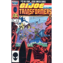 G.I. Joe and the Transformers Mini Issue 2