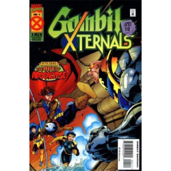 Gambit and the X-Ternals Mini Issue 4