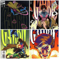 Gambit Mini Series Collection Issues 1-4