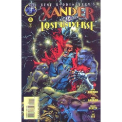 Gene Roddenberry's Xander in Lost Universe  Issue 5