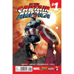 All-New Captain America  Issue 1