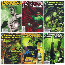 Green Lantern: Rebirth Collection Issues 1-6