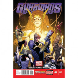 Guardians of the Galaxy Vol. 3 Issue 5
