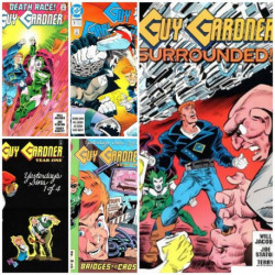 Guy Gardner Collection Issues 8-12
