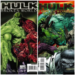 Hulk: Broken Worlds Collection Issues 1 and 2