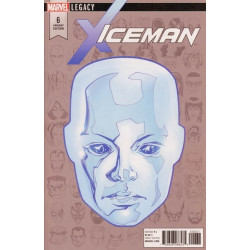 Iceman Vol. 3 Issue 06c Variant