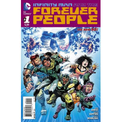 Infinity Man and the Forever People  Issue 1