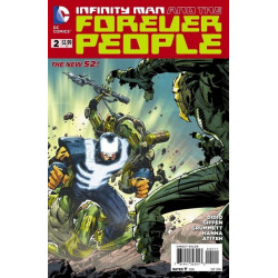 Infinity Man and the Forever People  Issue 2