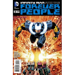 Infinity Man and the Forever People  Issue 3