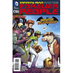 Infinity Man and the Forever People  Issue 4