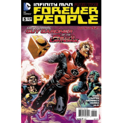 Infinity Man and the Forever People  Issue 5
