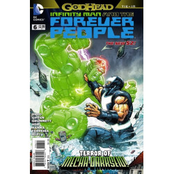 Infinity Man and the Forever People  Issue 6