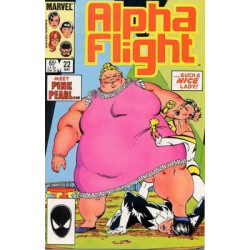 Alpha Flight Vol. 1 Issue 022