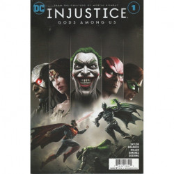 Injustice: Gods Among Us Issue 1w