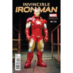 Invincible Iron Man Vol. 2 Issue 1d Cosplay Variant