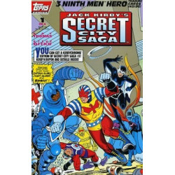 Jack Kirby's: Secret City Saga Mini Issue 1
