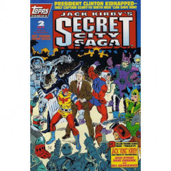 Jack Kirby's: Secret City Saga Mini Issue 2