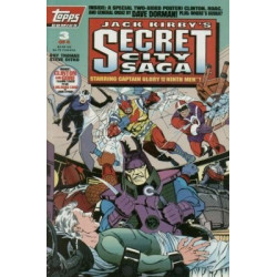 Jack Kirby's: Secret City Saga Mini Issue 3