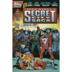 Jack Kirby's: Secret City Saga Mini Issue 4