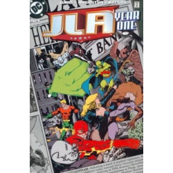 JLA: Year One  Issue 1