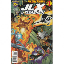 JLX Unleashed One-Shot Issue 1 Signed Edition