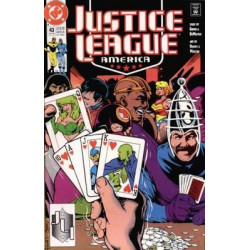 Justice League America  Issue 043