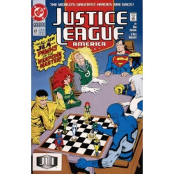 Justice League America  Issue 061