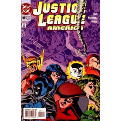 Justice League America  Issue 095