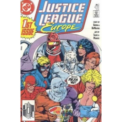 Justice League Europe  Issue 01