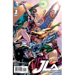 Justice League of America Vol. 4 Issue 1