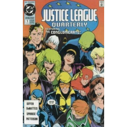 Justice League Quarterly  Issue 1