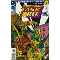 Justice League Task Force  Issue 06