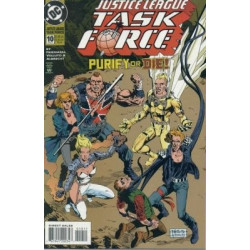 Justice League Task Force  Issue 10
