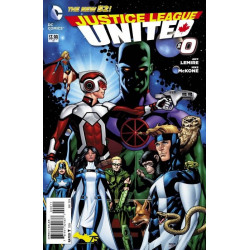 Justice League United  Issue 0
