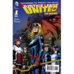 Justice League United  Issue 1