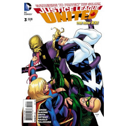 Justice League United  Issue 3