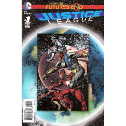 Justice League: Futures End One-Shot Issue 1b