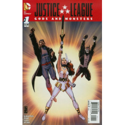 Justice League: Gods and Monsters Issue 1