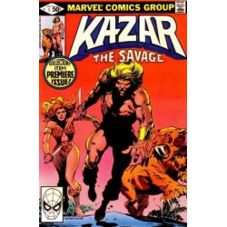 Ka-Zar The Savage  Issue 01