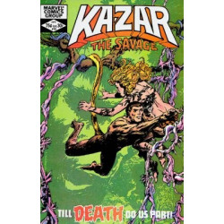 Ka-Zar The Savage  Issue 13