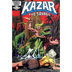 Ka-Zar The Savage  Issue 18