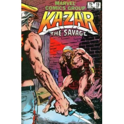 Ka-Zar The Savage  Issue 19