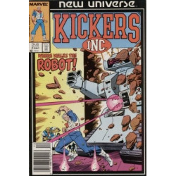 Kickers, Inc.  Issue 02